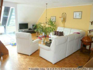 Maisonette-Wohnung mit Garage stadtnahe Südlage 53518 Adenau, Maisonettewohnung
