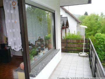 Erdgeschosswohnung in ruhiger Lage mit Balkon 53518 Adenau, Erdgeschosswohnung