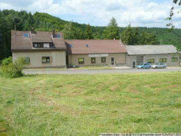 Einfamilienhaus + 2 Hallen + Bürogebäude im Nürburgring 53518 Quiddelbach, Einfamilienhaus