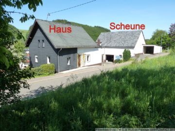 Eifler-Bauernhaus mit Stall und Scheune am Ortsrand 56729 Siebenbach, Bauernhaus