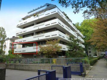 Sonnenplatz auf Ihrem großen Balkon im Zooviertel 40237 Düsseldorf, Wohnung