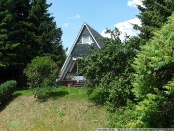 Nurdach-Wochenendhaus am Ortsrand in der Eifel 54552 Dockweiler, Einfamilienhaus