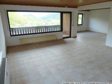 Frisch renovierte Wohnung + Garage + Gartenterrasse + Aussicht + Balkon 56729 Siebenbach, Wohnung