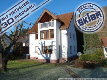 Renoviertes Haus mit schönem ebenem Garten und Doppelgarage in Schuld an der Ahr 53520 Schuld, Einfamilienhaus