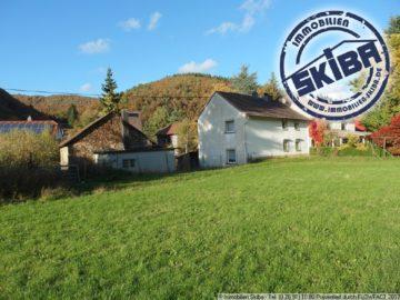 Eifel-Bauernhaus mit Bruchsteinscheune, sonnigem Wiesengrundstück und Bachlauf 53506 Kesseling-Staffel, Einfamilienhaus