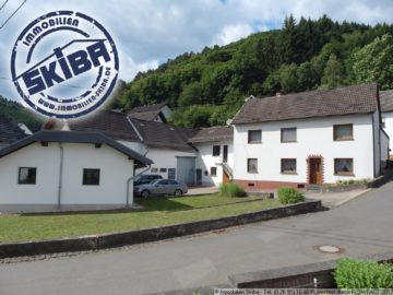 Eifler-Bauernhaus mit großer Garage, Scheune und Stall – viel Platz 56729 Acht, Einfamilienhaus