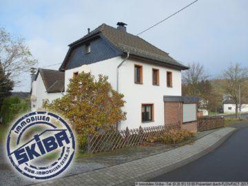 Einfamilienhaus mit Nebengebäude und ebenem Grundstück in der Eifel 53520 Müllenbach, Einfamilienhaus