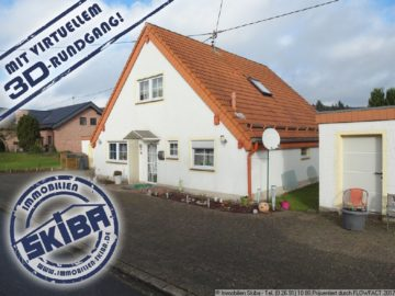 Ansprechendes Wohnhaus mit großem Wiesengrundstück und 2 Garagen 56729 Baar-Oberbaar, Einfamilienhaus