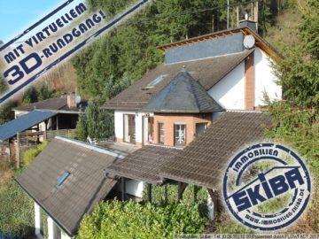 Top-Einfamilienhaus im individuellen Baustil mit Ausblick über den Eifelort Acht 56729 Acht, Einfamilienhaus
