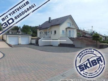 Neuwertiges Wohnhaus mit 5 Garagenstellplätzen/Werkstatt nähe Nürburgring 56729 Baar-Wanderath, Einfamilienhaus