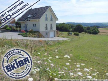 Panoramablick aus der ersten Reihe in Wanderath/Eifel 56729 Baar-Wanderath, Einfamilienhaus