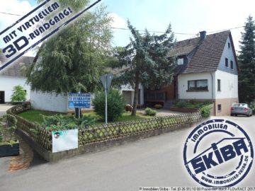 Wohnhaus mit Garten und 3 Garagen im schönen Dankerath in der Eifel 53520 Dankerath, Einfamilienhaus