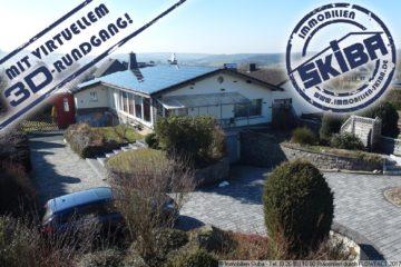 Bungalow mit schönem Garten in ruhiger Lage + Einnahmen über Solaranlage 53520 Müllenbach, Einfamilienhaus