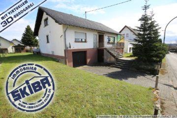 Bungalow im Eifelhöhenort Wershofen – Wohnen auf einer Ebene 53520 Wershofen, Einfamilienhaus