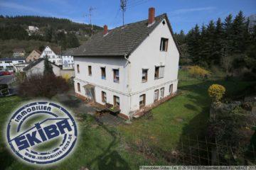 Sanierungsbedürftiges Einfamilienhaus – Zentral Wohnen in Adenau 53518 Adenau, Einfamilienhaus