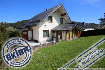Neuwertiges Einfamilienhaus in erhöhter Lage von Ahrdorf 53945 Blankenheim-Ahrdorf, Einfamilienhaus
