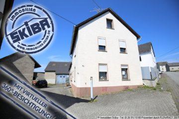 Ein Sahnestück für Kfz- oder Tierfreunde – ehemaliges Bauernhaus nähe Nürburgring 56729 Herresbach, Einfamilienhaus