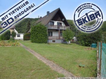 Einfamilienhaus in ruhiger Lage mit 2 Garagen und schönem Blick auf die Eifel 53533 Fuchshofen, Einfamilienhaus