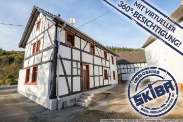 Liebevoll und stilecht saniertes Fachwerkhaus mit Garten und Hof im Eifeldorf Gilgenbach bei Adenau 53518 Leimbach-Gilgenbach, Einfamilienhaus