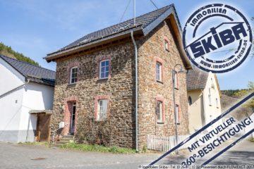 Kleines, modernisiertes Bruchsteinhaus mit Charme in Acht in der Eifel 56729 Acht, Einfamilienhaus