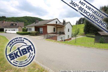 Wohnhaus in ruhiger Lage mit großen Grundstück + 2 Garagen + Einliegerwohnung 56729 Baar-Büchel, Einfamilienhaus