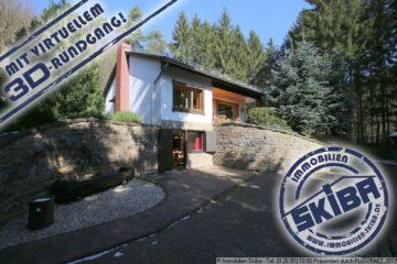 Alleinlage: Fernab gelegenes Schmuckstück in begehrter ruhiger Waldlage im Ommelbachtal 53520 Dümpelfeld-Ommelbachtal, Einfamilienhaus