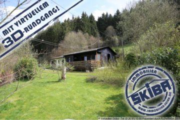 Liebenswertes Wochenendhaus in idyllischer abgelegener Lage mit großem Grundstück 53520 Dümpelfeld-Lückenbach, Einfamilienhaus