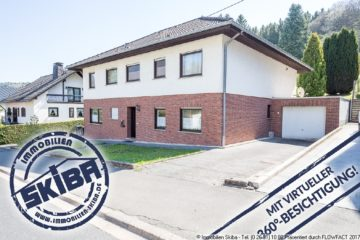 Gepflegtes Wohnhaus mit Einliegerwohnung und Garten in guter Lage der Eifelstadt Adenau 53518 Adenau, Einfamilienhaus