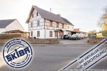 Schnuckeliges, teilrenoviertes Bruchsteinhaus in Fachwerkoptik im Eifeldorf Wershofen 53520 Wershofen, Einfamilienhaus