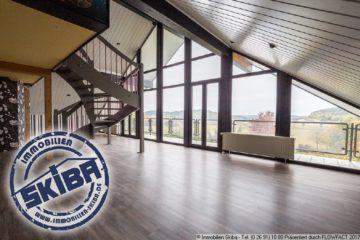Panoramablick über die Eifellandschaft – großzügige Wohnung mit offener Raumgestaltung in Herresbach 56729 Herresbach, Wohnung